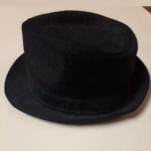 Other - Men's Black Fedora Dress Hat